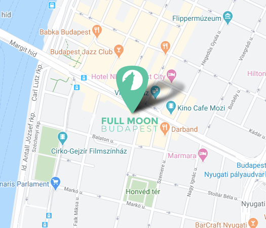 Screenshot of Fullmoon Budapest map location